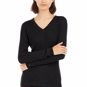 Tommy Hilfiger Ivy Cotton Cable Sweater